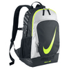 NIKE Tennis Court Tech Backpack Black and Metallic Silver