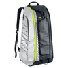 NIKE Tennis Court Tech 1 Bag Black and Metallic Silver