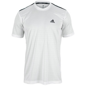 adidas MENS TS ENGINEERED CREW NECK WHITE