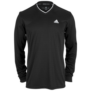 adidas MENS TS ENGINEERED LONG SLV TEE BLACK