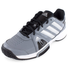 adidas JUNIORS BARRICADE TEAM 3 SHOES GY/SILV