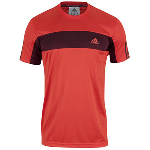 adidas MENS TENNIS SEQUEN GALAXY TEE BD ORANGE