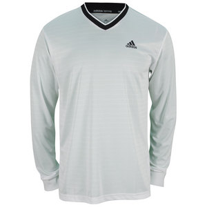 adidas MENS TS ENGINEERED LONG SLV TEE WHITE