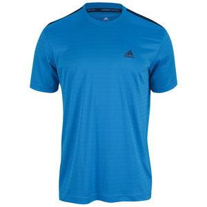 adidas MENS TS ENGINEERED CREW NECK SOLAR BLUE