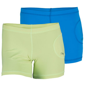 SOFIBELLA WOMENS BALL POCKET TENNIS SHORT