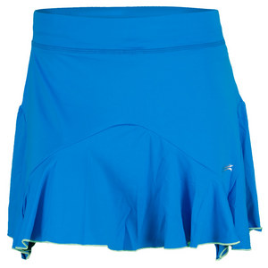 SOFIBELLA WOMENS 15 INCH TENNIS SKORT BB BLUE