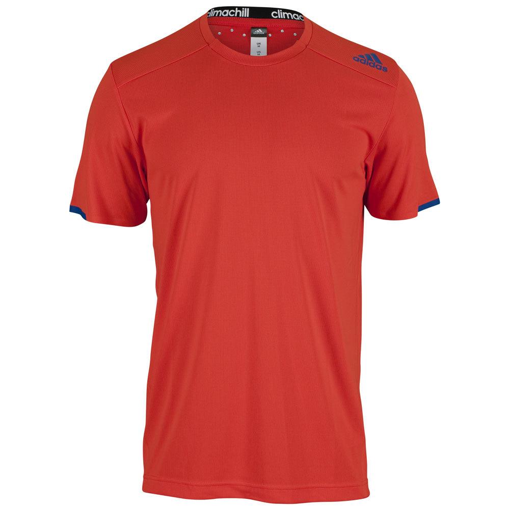 Men's All Premium Chill Tennis Tee Bold Orange