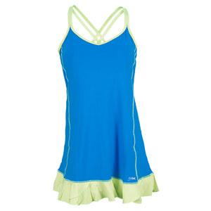 SOFIBELLA WOMENS CAMI TENNIS DRESS BB BLUE