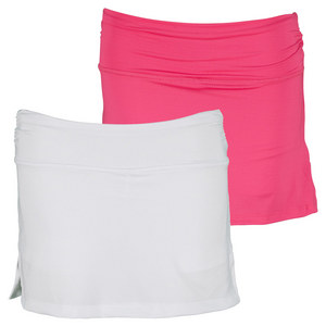 LUCKY IN LOVE GIRLS ROUCHED TENNIS SKIRT