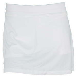 SOFIBELLA WOMENS 14 INCH TENNIS SKORT WHITE