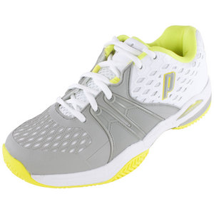 PRINCE WOMENS WARRIOR CLAY TENNIS SHOES WH/G