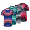 NIKE Men`s Rally Sphere Stripe Tennis Crew