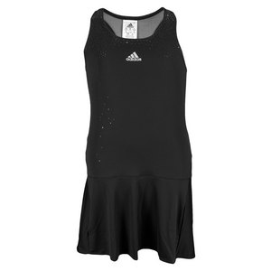 adidas GIRLS ADIZERO TENNIS DRESS BLACK