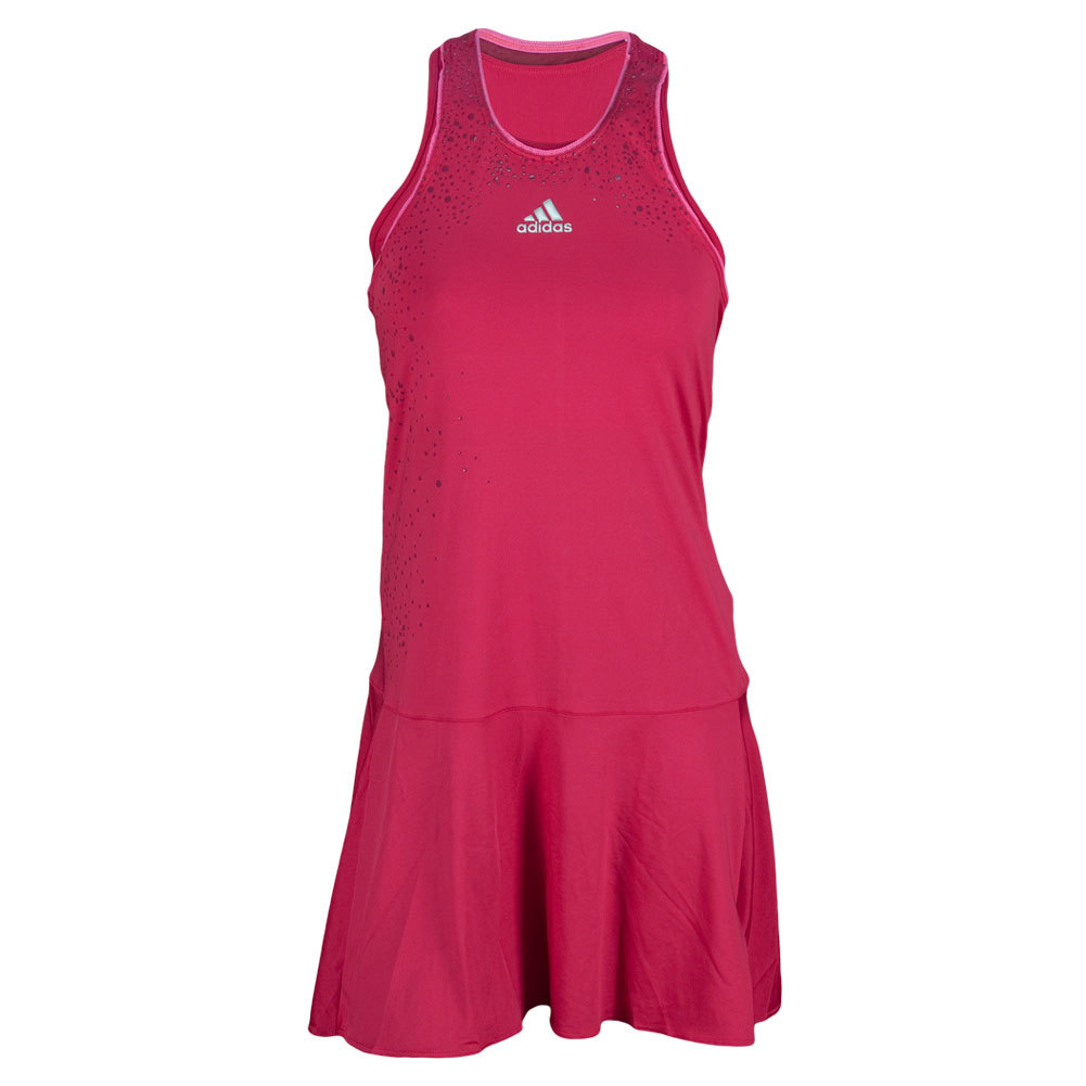 adidas Women`s Adizero Tennis Dress Bold Pink