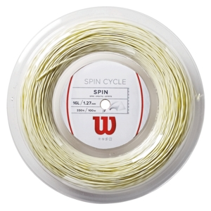 WILSON SPIN CYCLE 16L TENNIS STRING REEL WHITE