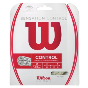 Sensation Control 16G Tennis String Natural