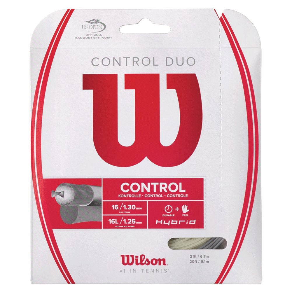Control Duo Hybrid Tennis String