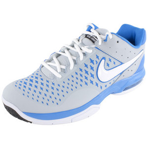 NIKE MENS AIR CAGE ADVANT TNS SHOES GY/BL