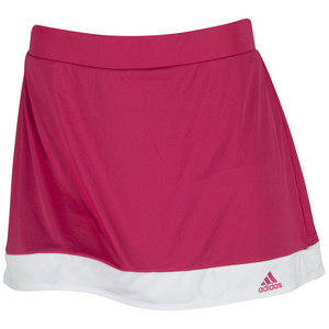 adidas WOMENS GALAXY 13IN TNS SKORT BOLD PINK