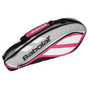 BABOLAT CLUB LINE 3 PACK TENNIS BAG ROSE