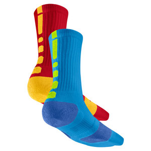 NIKE MENS ELITE BASKETBALL CREW SOCKS SMALL