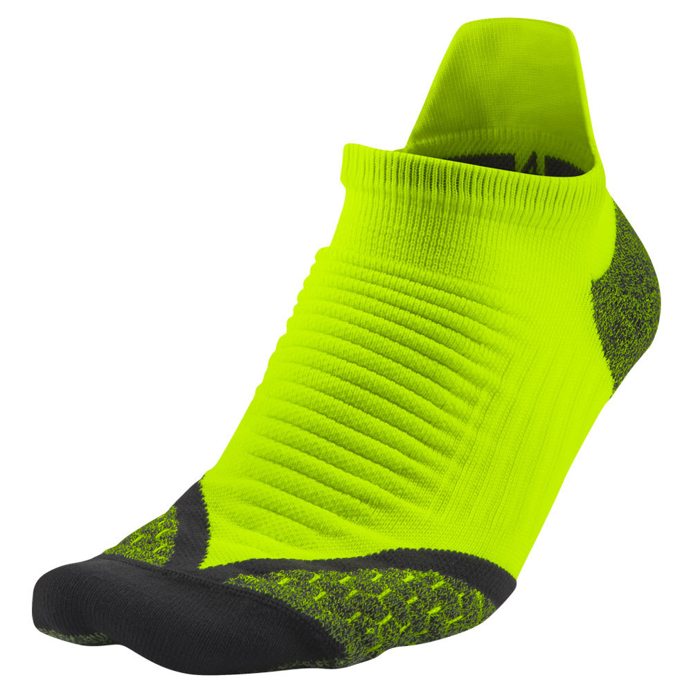 wholesale dealer 4728d edfa8 ... Elite Running Cushion No Show Tab Socks 710 VOLT ANTHRACITE