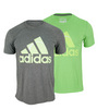 Men`s Adi Sport Tennis Logo Tee by ADIDAS
