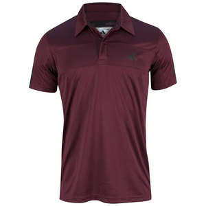 adidas MENS TS GALAXY POLO DARK RED