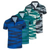 Men`s Rally Sphere Stripe Tennis Polo by NIKE