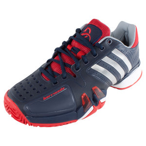 adidas MENS ND ADIPWR BARRICADE 7 SHOES NV/SILV