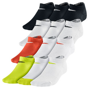 Boys` Cotton Cushion No Show Socks 3 Pack