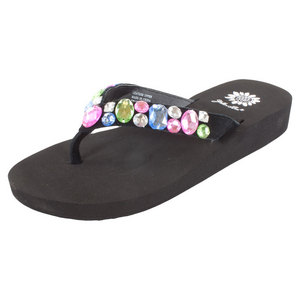 Yellowbox Belicia Multi Black Sandal