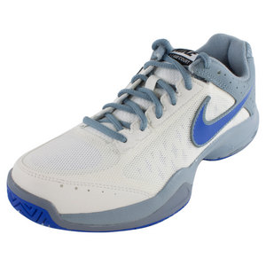 NIKE WOMENS AIR CAGE COURT SHOES IVORY/MAG GY