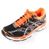 Men`s Gel Cumulus 16 Lite Show Running Shoe Onyx and Black by ASICS