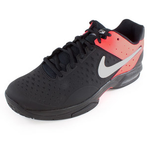 NIKE MENS AIR CAGE ADVANT TNS SHOES BK/PNCH