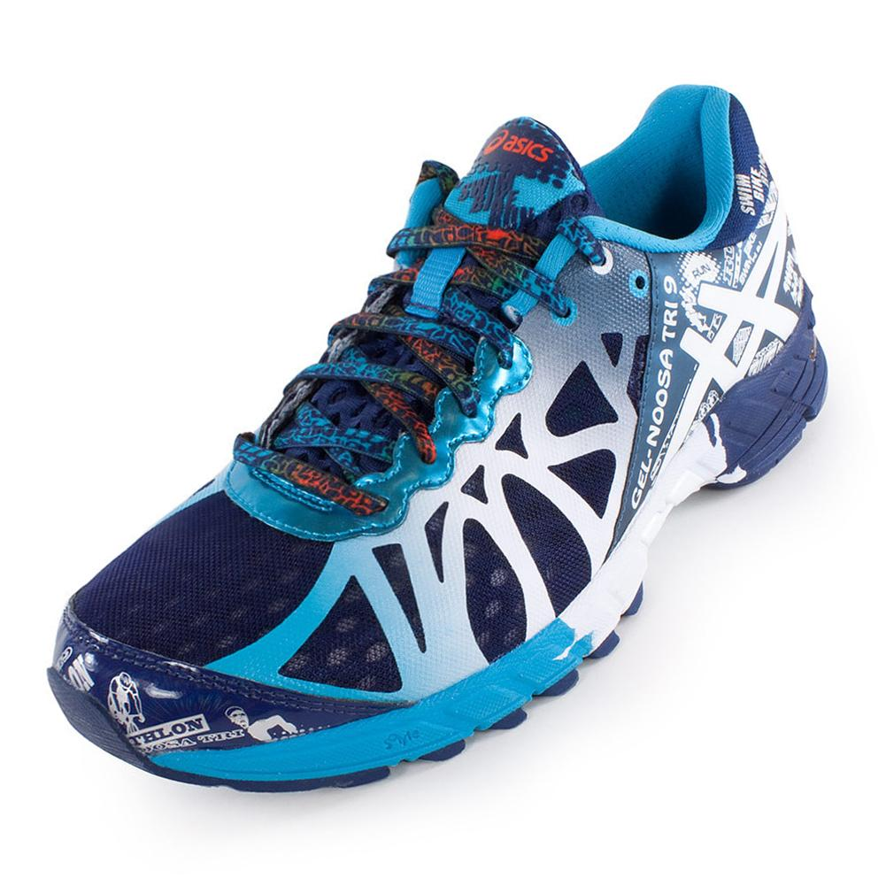 Hot Mens Asics Gel-noosa Tri 9 - Asics Mens Gel Noosa Tri 9 Running Shoes Navy And White 38211