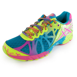 ASICS WOMENS GEL NOOSA TRI 9 RUN SHOES C BL/RA