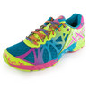 ASICS Women`s Gel Noosa Tri 9 Running Shoes Capri Blue and Raspberry