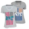 ADIDAS Women`s NYC Flag Tennis Tee