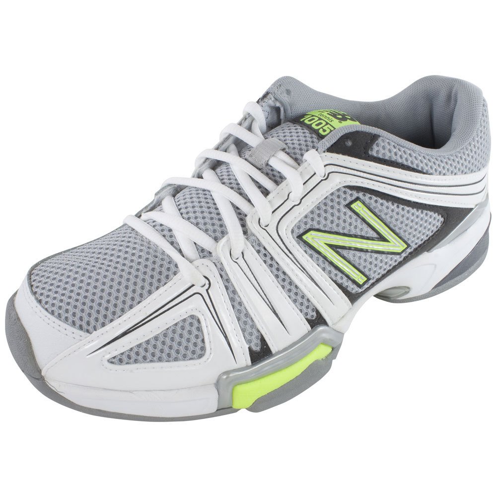 new balance s 1005 d width tennis shoes gray and yellow
