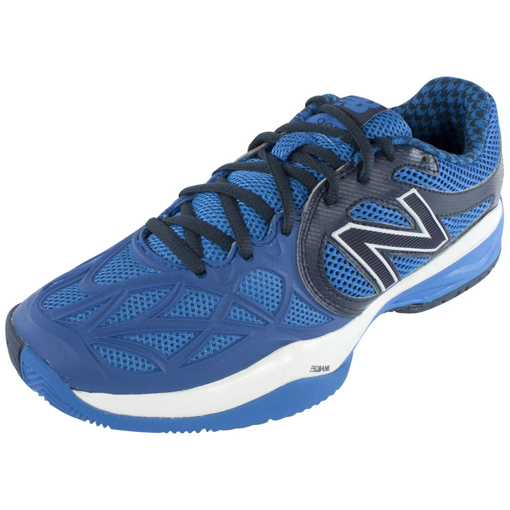 Men's 996 D Width Tennis Shoes Gray And Blue