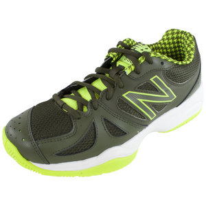 Men`s 696 D Width Tennis Shoes Yellow and Combat