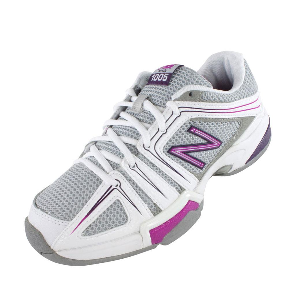 Women's 1005 B Width Tennis Shoes Gray And Pink
