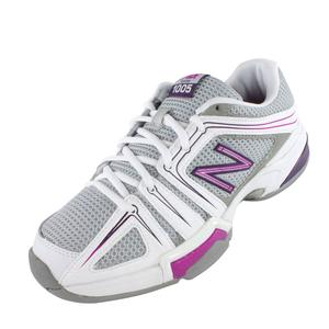 Women`s 1005 B Width Tennis Shoes Gray and Pink