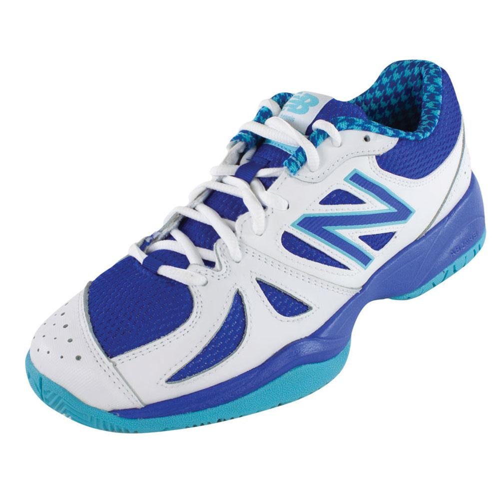 Women's 696 B Width Tennis Shoes Paradise And Uv Blue