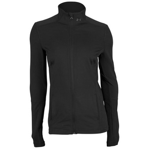 UNDER ARMOUR WOMENS PERFECT RIBBED JACKET BLACK