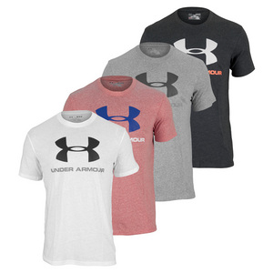 UNDER ARMOUR MENS SPORTSYLE LOGO TEE