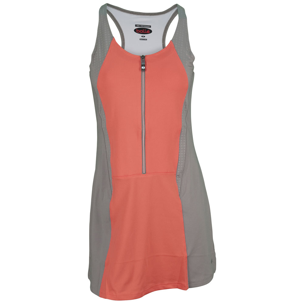 Women's Wild Fire Tennis Dress Coral And Taupe