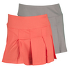 BOLLE Women`s Wild Fire Pleated Tennis Skort