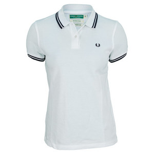 FRED PERRY WOMENS WICKABLE TWIN TIPPED TENNIS POLO